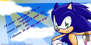 Sonic TH Photoshop by amyrose7