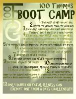 100 Themes Boot Camp by Nytrinhia