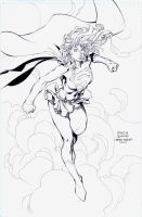 Supergirl: David Finch by boysicat