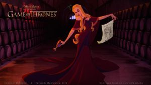 Cersei Lannister by andersonmahanski