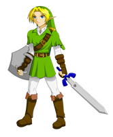 OoT Link Collab by GamingGirl73