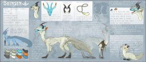 Shinsen Refrence sheet by Zukuro