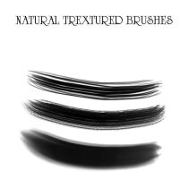 Natural Textured Brushes by Vellosia