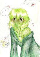 Yellow and Green by LavenderYouko