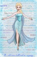 Elsa of Arendelle, Ice Queen. by Beauty-Darkly