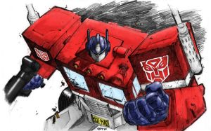 Optimus Prime - Recolored by elindir