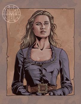 Dolores Abernathy by aquiles-soir