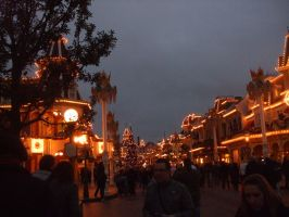 Main Street U.S.A Disneyland Paris by HaddonArt