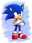 .:Sonic:. by Blacky-Doll