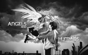 Angels and Humans by eliteKR