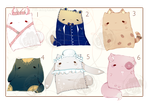 [CLOSED + EXTRAS] ADOPT AUCTION 210 - PillowPET by Piffi-adoptables