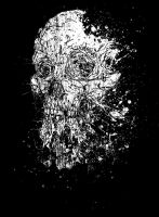 Skull vomit by Sundial-Design