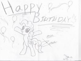 B-Day Card 2 by Xeirla