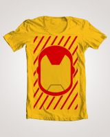 Iron Man Shirt Design by Yusef-Muhammed