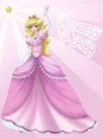 Princess Peach by bakamiyu