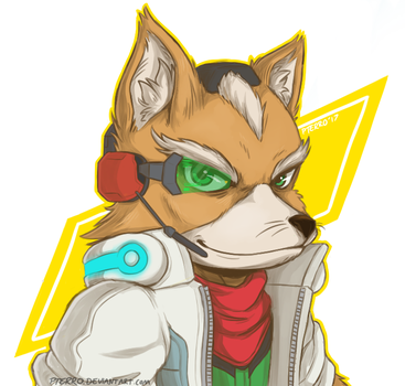 Fox McCloud. by pterro