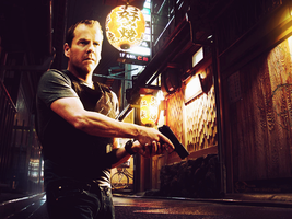 Jack Bauer in Chinatown by EdItalo