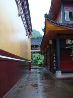 Temple on Emei Mountain by VixenRapture