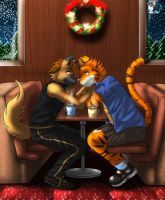 CMS130_unter_the_mistletoe by Darkgoose