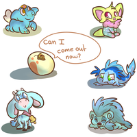 Babby Neopets by PonyGoggles