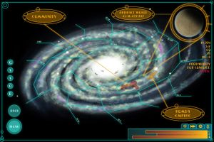 Galaxy Map by Sapiento