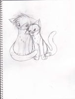 Adorable kitties WIP by DappleFeather