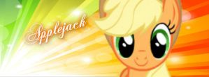 Applejack Bacground Facebook by funyan-lineart