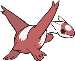 380. Latias by HappyCrumble