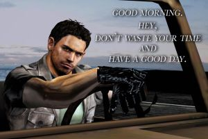 Message from Chris Redfield part 3 by PWheroCR