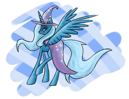 The Great And Powerful Trixie by Wolframclaws