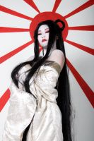 Amaterasu - outtake 2 by Cyril-Helnwein
