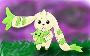 AT - Terriermon by xXChibiStarrXx