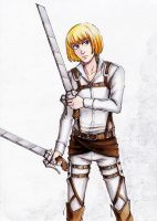 SNK Armin by MaryIL