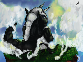 Aggron by shadowind98