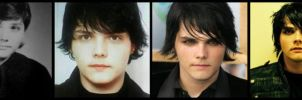 Gerard Way - Through the years by AmeliaKader