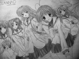 Clannad by thesdros