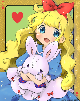 Coloring contest: Alice by Laet-lyre