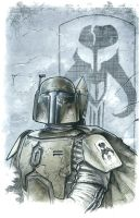 Boba Fett - Cover Sample by kohse