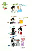 Homestuck Time . by gmil123