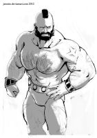 Zangief sketch by jaimito