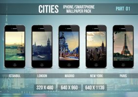 Cities iPhone/Smartphone Wallpaper Pack Part 1 by limav
