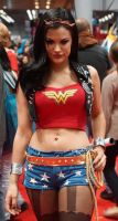 NYCC 2013 Punk Wonder Woman 1 by kamau123