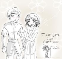 First date for Mumy-chan by RoninMaj