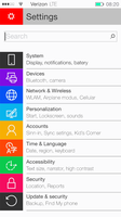 Windows 10 Mobile Settings by janosch500