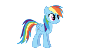 Rainbow Dash Puppet Rig for Anime Studio V1.3 by MerlinkPa