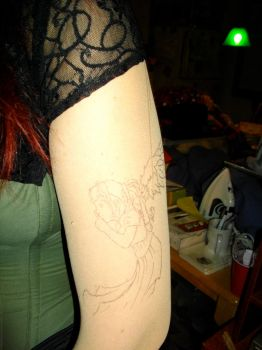 Tattoo Shirt Left Bicep by MoonGoddessofCutlery
