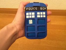 Tardis Mobile Case by anapeig