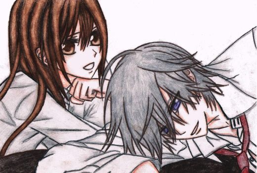 Yuuki and Zero - Vampire Knight by DashaChii