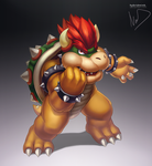 Bowser by hybridmink