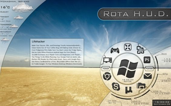 Rota H.U.D. by ExtraCycle